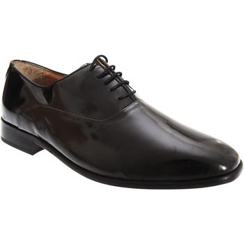 Schoenen Heren Klassiek Montecatini Oxford Zwart octrooi