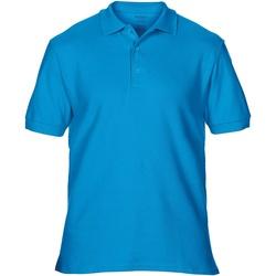 Textiel Heren Polo's korte mouwen Gildan Premium Sapphire