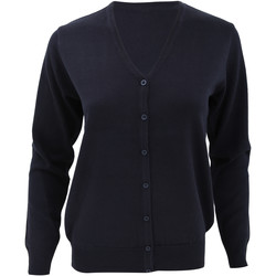 Textiel Dames Vesten / Cardigans Kustom Kit KK354 Marineblauw