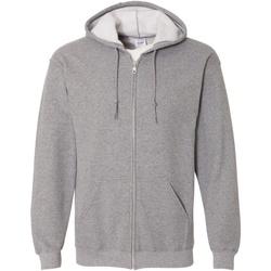 Textiel Heren Sweaters / Sweatshirts Gildan 18600 Grafiet Heide