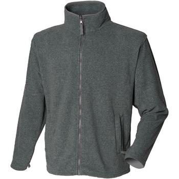Textiel Heren Fleece Henbury  Houtskool mergel (mergel effect)