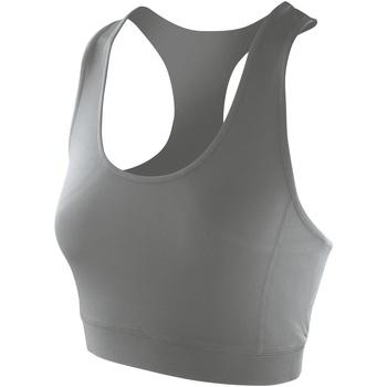 Textiel Dames Sport BH's Spiro SR282F Bewolkt Grijs