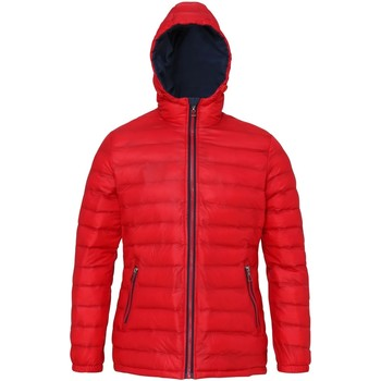 Textiel Dames Dons gevoerde jassen 2786 TS16F Rood/Zwaar