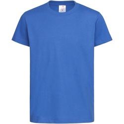 Textiel Kinderen T-shirts korte mouwen Stedman  Helder Koninklijk