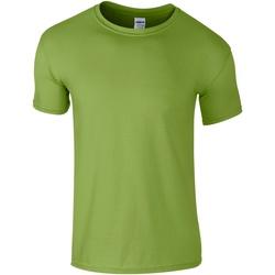Textiel Heren T-shirts korte mouwen Gildan Soft-Style Kiwi