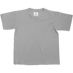 Textiel Kinderen T-shirts korte mouwen B And C TK300 Sportgrijs