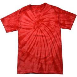 Textiel Kinderen T-shirts korte mouwen Colortone Spider Spin rood