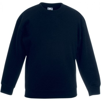 Textiel Kinderen Sweaters / Sweatshirts Fruit Of The Loom SS801 Zwart