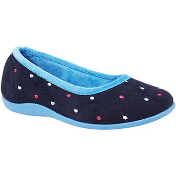 Schoenen Dames Sloffen Sleepers  Blauw/Turkoois