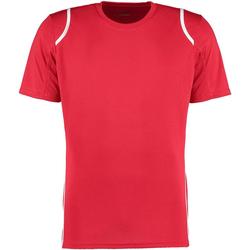 Textiel Heren T-shirts korte mouwen Gamegear Cooltex Rood/Wit