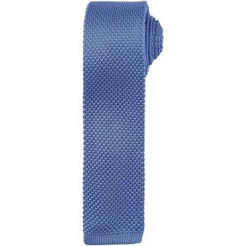 Textiel Heren Stropdassen en accessoires Premier Textured Middenblauw
