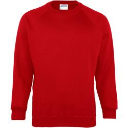 Textiel Kinderen Sweaters / Sweatshirts Maddins  Rood