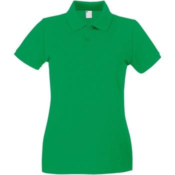 Textiel Dames Polo's korte mouwen Universal Textiles 63030 Helder groen