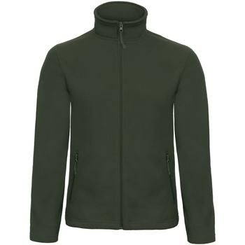 Textiel Heren Fleece B And C ID 501 Bosgroen