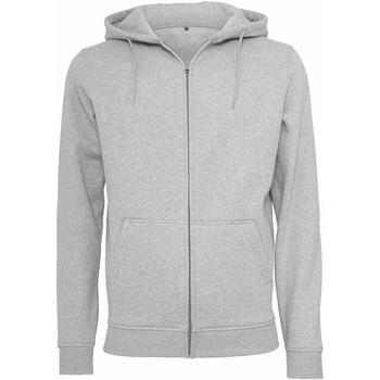 Textiel Heren Sweaters / Sweatshirts Build Your Brand BY012 Heide Grijs