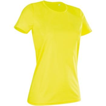 Textiel Dames T-shirts korte mouwen Stedman  Cybergeel