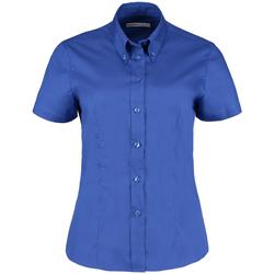 Textiel Dames Overhemden Kustom Kit KK701 Koningsblauw