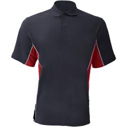 Textiel Heren Polo's korte mouwen Gamegear KK475 Marine / Rood / Wit