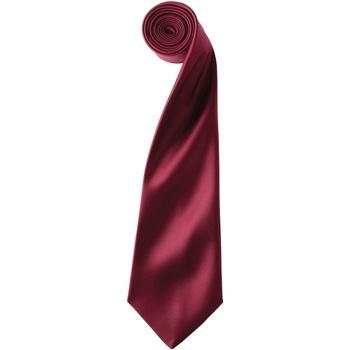 Textiel Heren Stropdassen en accessoires Premier PR750 Bourgondië