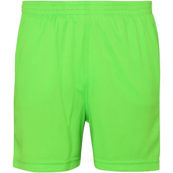 Textiel Kinderen Korte broeken / Bermuda's Awdis JC80J Elektrisch Groen