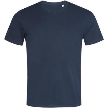 Textiel Heren T-shirts korte mouwen Stedman  Blauw