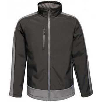 Textiel Heren Windjack Regatta RG422 Zwart/Seal Grey