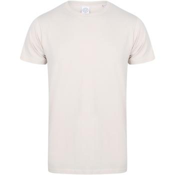 Textiel Heren T-shirts korte mouwen Skinni Fit SF121 Lichte steen