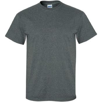 Textiel Heren T-shirts korte mouwen Gildan Ultra Donkere Heide