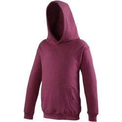Textiel Kinderen Sweaters / Sweatshirts Awdis JH01J Bourgondië