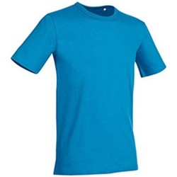 Textiel Heren T-shirts korte mouwen Stedman Stars Morgan Lichtblauw