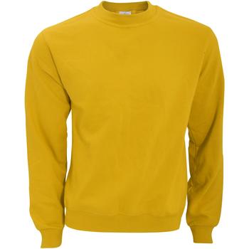 Textiel Heren Sweaters / Sweatshirts B And C WUI20 Chilli-Goud