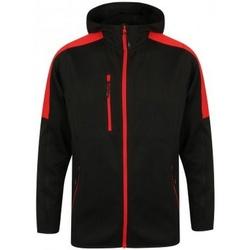 Textiel Heren Windjack Finden & Hales LV622 Zwart/Rood