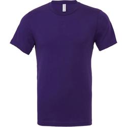 Textiel Heren T-shirts korte mouwen Bella + Canvas CA3001 Team Paars