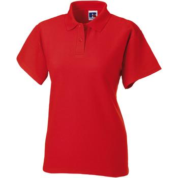 Textiel Dames Polo's korte mouwen Jerzees Colours 539F Helder rood