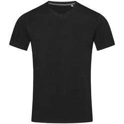 Textiel Heren T-shirts korte mouwen Stedman Stars Clive Zwart Opaal