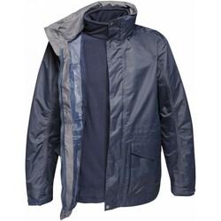 Textiel Heren Wind jackets Regatta Benson III Grijsblauw