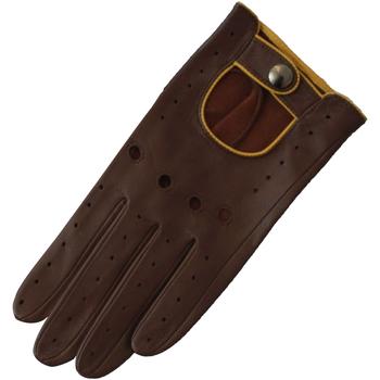 Accessoires Dames Handschoenen Eastern Counties Leather Driving Bruin/chroom
