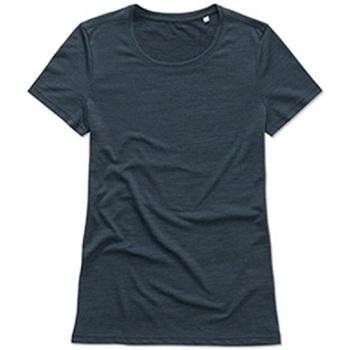 Textiel Dames T-shirts korte mouwen Stedman  Navy