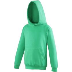 Textiel Kinderen Sweaters / Sweatshirts Awdis JH01J Kelly Groen