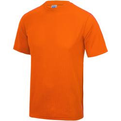 Textiel Kinderen T-shirts korte mouwen Awdis JC01J Elektrisch Oranje