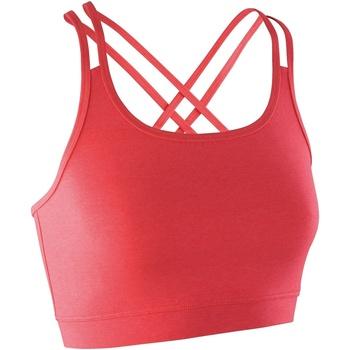 Textiel Dames Sport BH's Spiro S274F Hete koraal