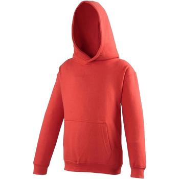 Textiel Kinderen Sweaters / Sweatshirts Awdis JH01J Vuurrood