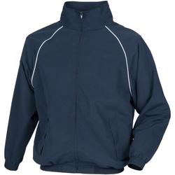Textiel Heren Wind jackets Tombo Teamsport TL400 Marine / Witte leidingen