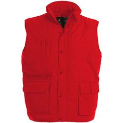 Textiel Heren Vesten / Cardigans B And C Explorer Rood