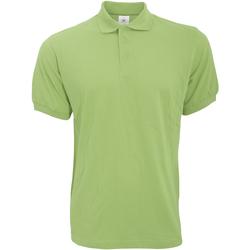 Textiel Heren Polo's korte mouwen B And C PU409 Pistache groen