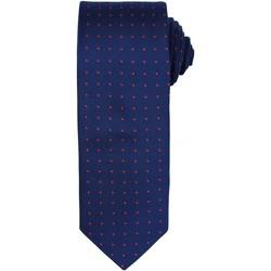 Textiel Heren Stropdassen en accessoires Premier Dot Pattern Marine / Rood