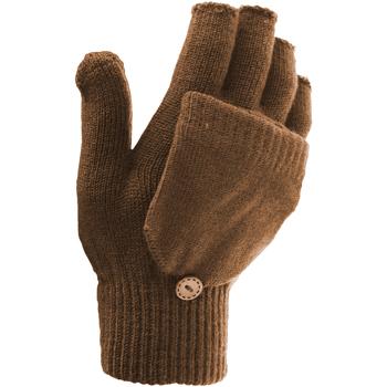 Accessoires Dames Handschoenen Floso  Bruin