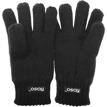 Accessoires Kinderen Handschoenen Floso  Zwart