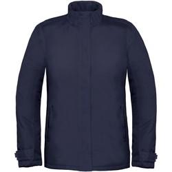 Textiel Dames Windjack B And C Real+ Marineblauw