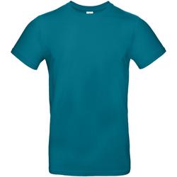 Textiel Heren T-shirts korte mouwen B And C TU03T Duivels blauw
